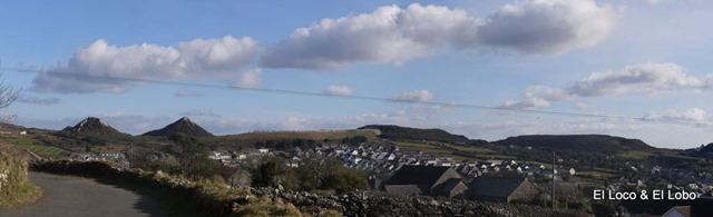 St Dennis is overlooked by mountainous slag heaps from the china clay pits