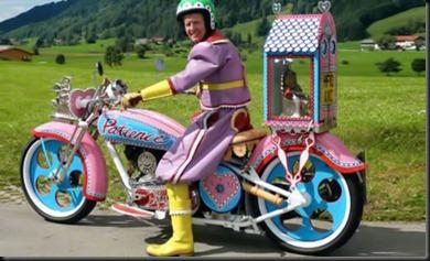 Pink-Strange-motorcycle