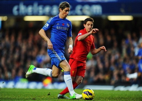 Hasil Chelsea vs Liverpool, Liga Inggris Minggu 11 November 2012