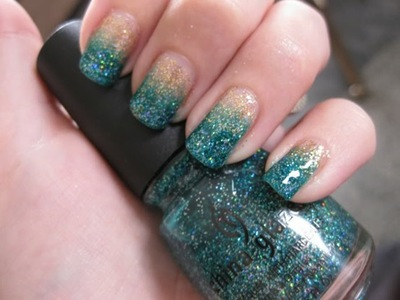 Ombre nails 12