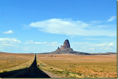 First View Monument Valley