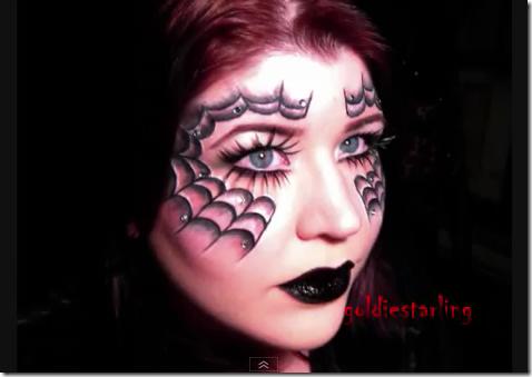 telara a en la cara maquillajes halloween