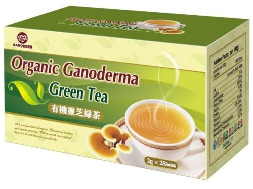 green tea ganoderma