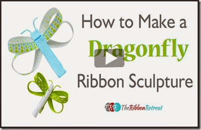 How-To-Make-A-Dragonfly-Ribbon-Sculptures