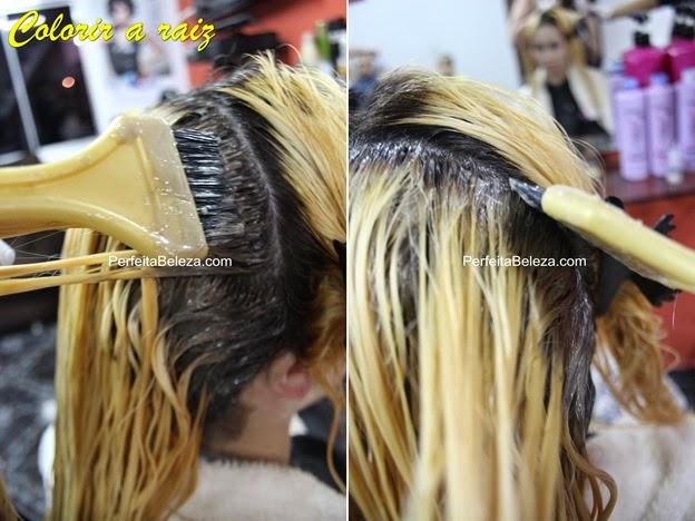 como pintar a raiz do cabelo