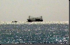 fishingboat aground