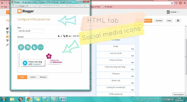 social media icons in html