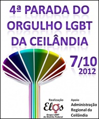 parada gay Ceilândia 2012