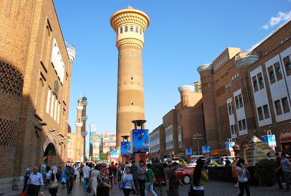 Urumqi - Grand bazar