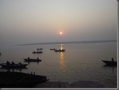 Varanasi,Ganges Sonnenaufgang