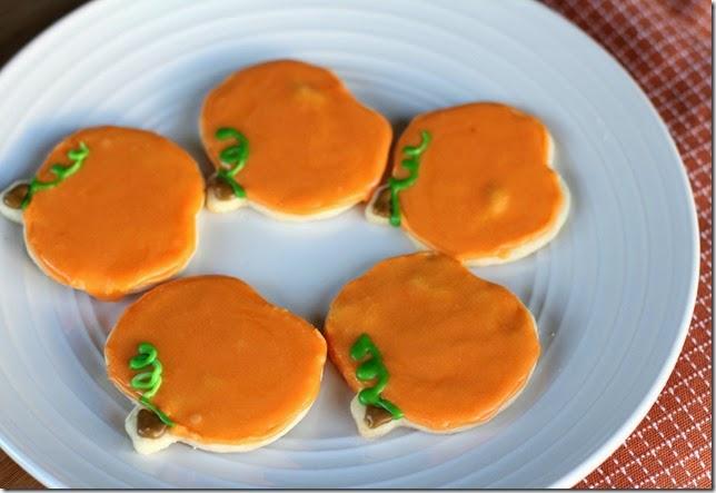 Pumpkin Sugar Cookies2