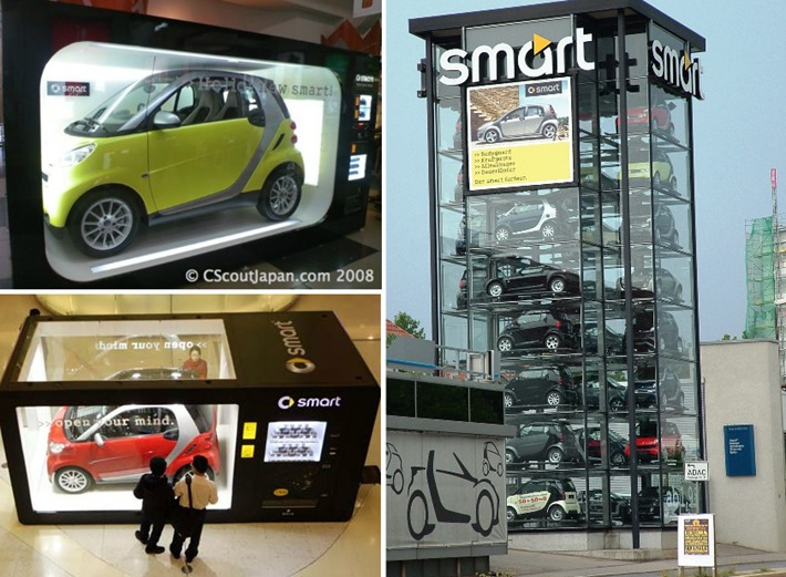 vending machine smart car
