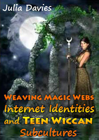 Cover of Julia Davies's Book Weaving Magic Webs Internet Identities And Teen Wiccan Subcultures