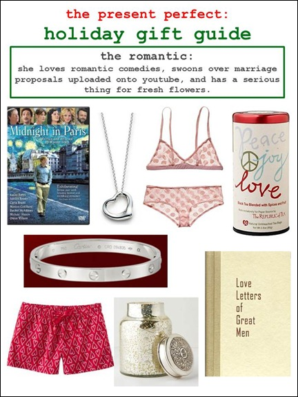 2011.12.15 - Holiday Gift Guide - The Romantic