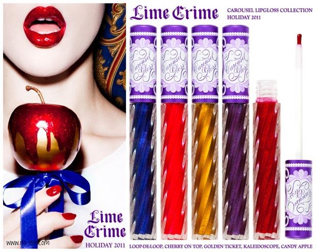 Lime crime Carousel lipgloss