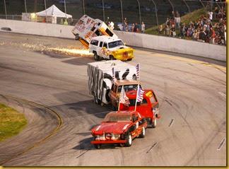 RMR Figure-8 Trailer Race, Photo Courtesy of Mike Evans