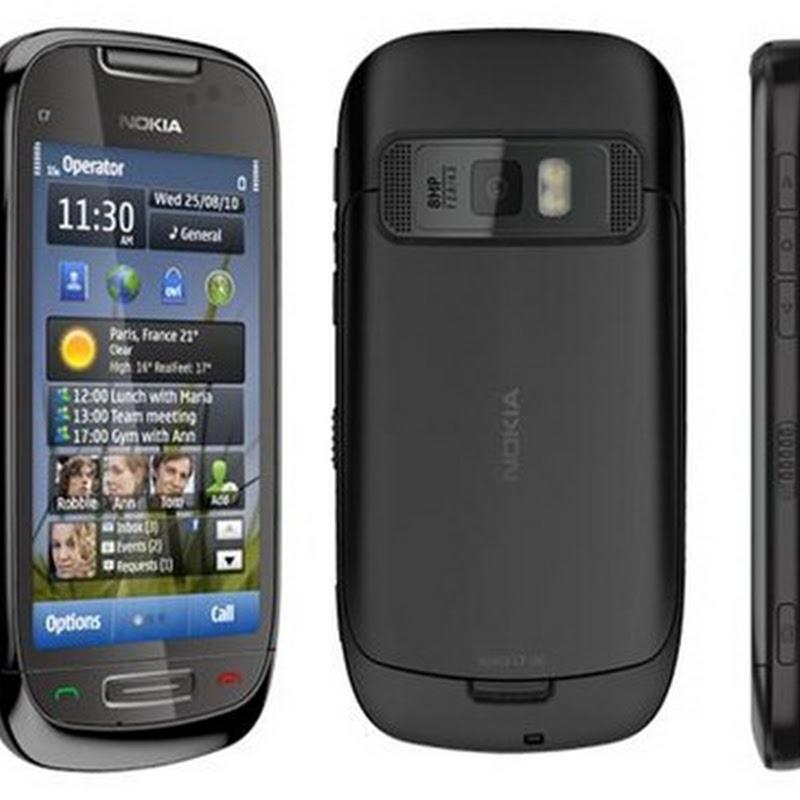 Как разобрать телефон Nokia C7