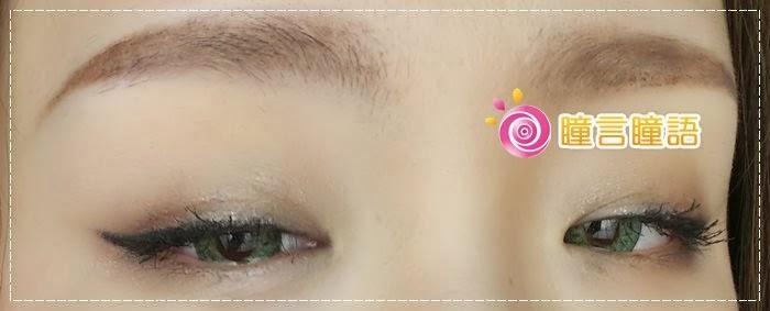 韓國GEO隱形眼鏡-GEO Sparkling 火花四色綠010
