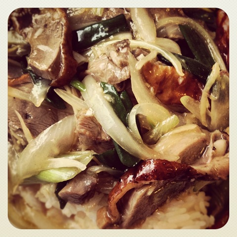 #119 - Song Que's stir-fried duck with ginger and spring onion