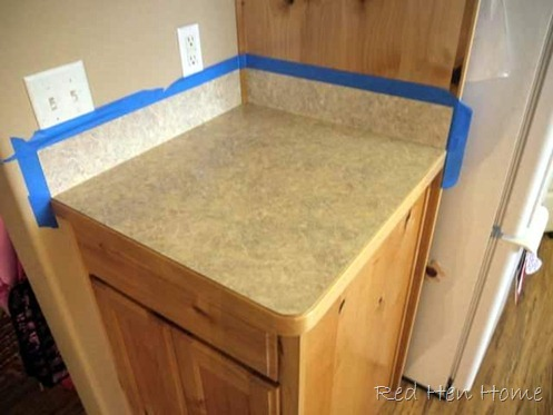remodelaholic | countertop makeover with giani granite paint