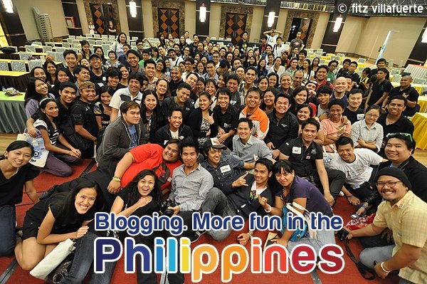 Blogging - It's more fun in the Philippines