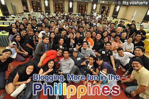 Blogging - It's more fun in the Philippines