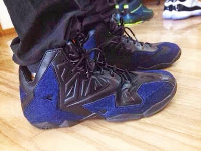 nike lebron 11 nsw sportswear ext denim 3 01 Upcoming Nike Sportswears LeBron 11 EXT Denim Edition