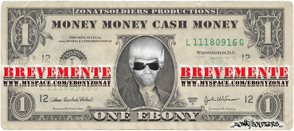 (Flyer) EBONY - Money Money Cash Money