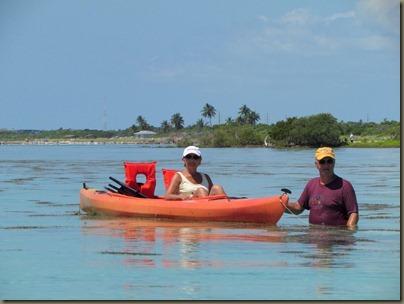 kayaking around sunshine key, john and janet