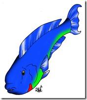 peces clipart blogolorear (41)