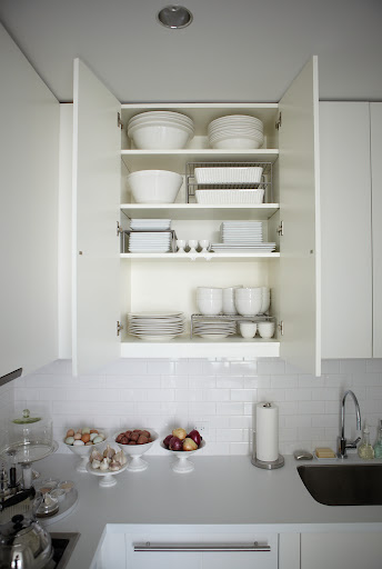Wire racks are an alternative option to stacking, which can damage and scratch dinnerware.
