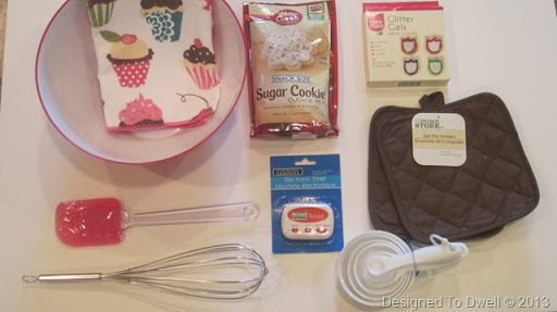 Designed To Dwell: Baking Birthday Gift (for kids)