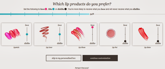 Wantable Lip Product Preferences