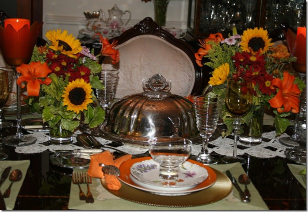 Tksgiving table at Night 004