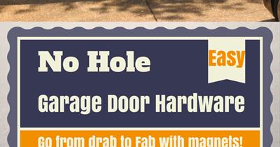 Hello Kirsti Easy Garage Door Upgrade