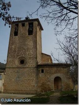 Alzorriz- Vista exterior de la iglesia - Valle de Unciti