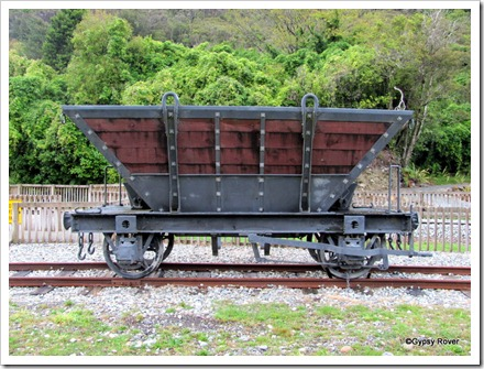 Coal wagon that took the coal to the Greymouth Wharf.