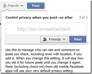 image Facebook privacy settings