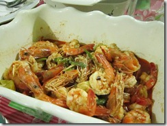 lemon shrimps, 240baon