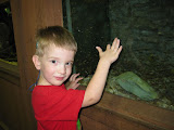 Danny's favorite at the State Fair? The FISH, of course!