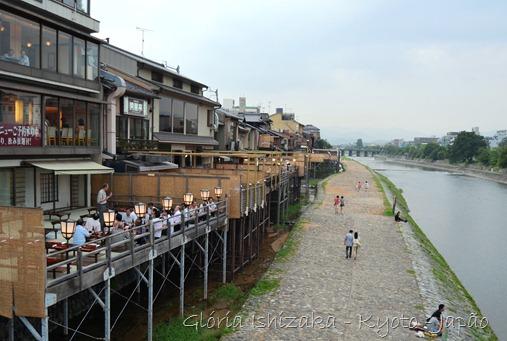 Gloria Ishizaka -andando por Kyoto - 5