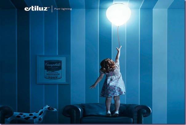 Luminária-Balão