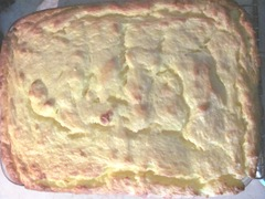 2 ingredient lemon cake done baking2