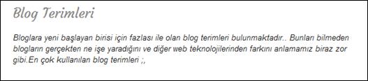 Google Web Fonts Yazı Başlıkları