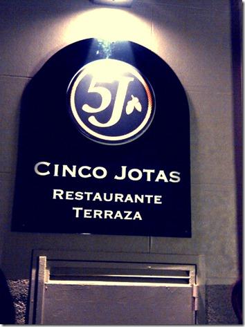 5 jotas restaurante