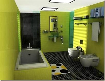 diseños de baños modernos6