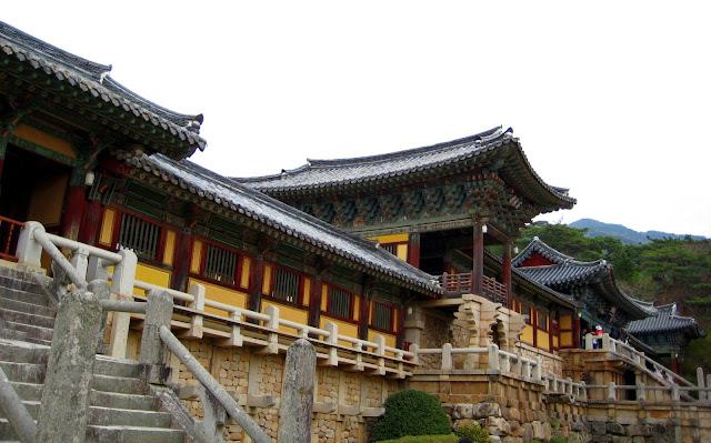 Ngói âm dương ở di tích lịch sử Gyeongju