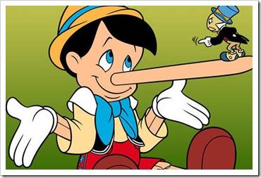 o grande mentiroso