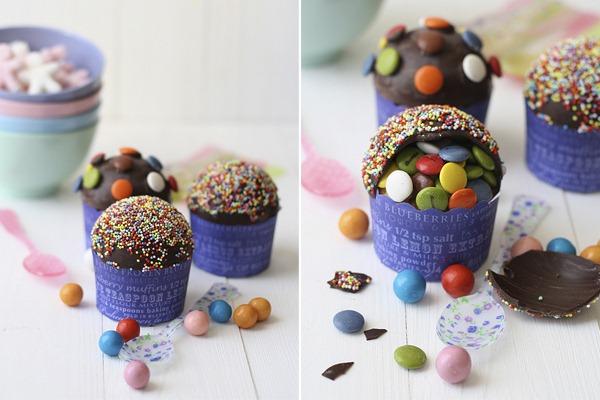 Piñata-Cupcakes-Confeitos-Chocolate