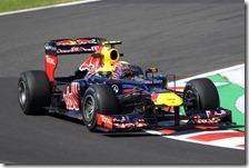 Webber nelle prove libere del gran premio del Giappone 2012